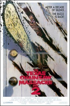 Texas Chainsaw Massacre 2 HIGH QUALITY MUSEUM WRAP CANVAS Print Unknown 11x17