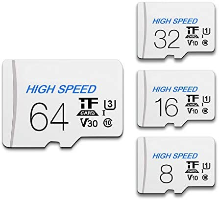 RONSHIN Magnetic for 8//16//32//64//128GB Memory Card Micro SD TF Card High Transfer Speed Class 10 Stable Storage Anti Data Loss 64GB