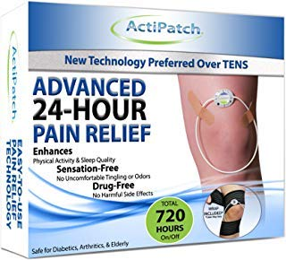 ActiPatch Advanced 24-Hour Pain Relief Device | Drug-Free, Sensation-Free | Lasts for 720 Hours (with On/Off Button)