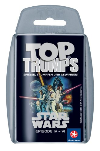 Star Wars Top Trumps for Geeks (German) IV-VI