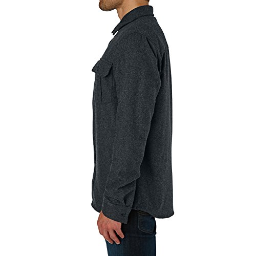 Quiksilver Travis Rice Wooly Shirt XX Large Grey Heather by Quiksilver (Image #1)