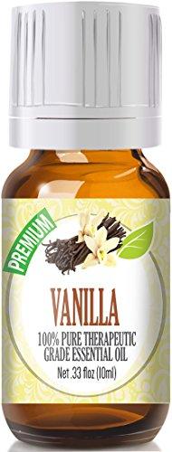 Vanilla 100% Pure, Best Therapeutic Grade Essential Oil - 10ml