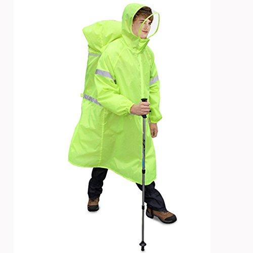Poncho B Et Léger Homme Randonnée Étanche A M Pour Multifonctions Sac Imperméable Raincoat À Ultra Dos Femme Extérieur Connecté txH6UtqB