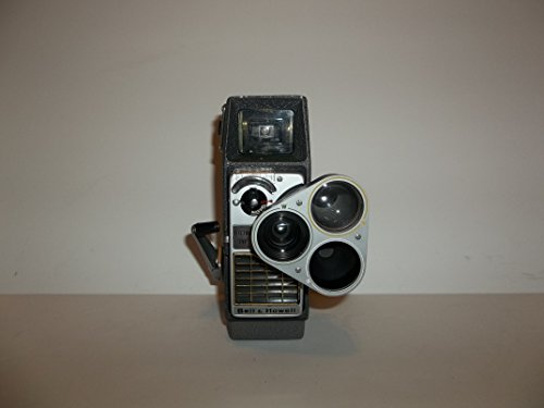 Bell & Howell Electric Eye 8mm Film Camera Perpetua 393E