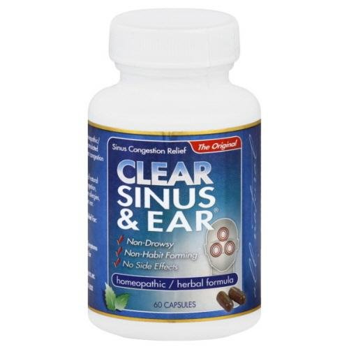 Clear Products Clear Sinus and Ear -- 60 Capsules