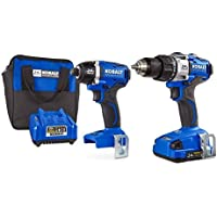 Kobalt 24-Volt Max Lithium Ion Brushless Motor Cordless Combo Kit with Soft Case (Charger Included and 1-Battery Included)
