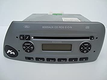 Ford Ka Cd With Aux Radio Stereo With Code