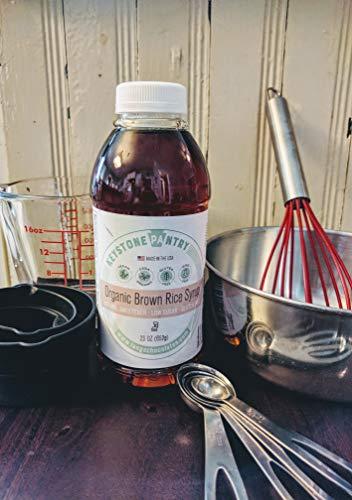 Keystone Pantry Organic Brown Rice Syrup 23 oz Bottle