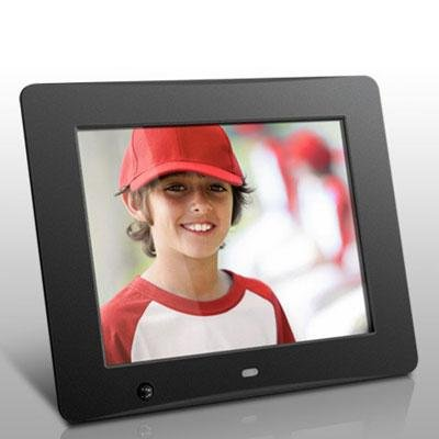 Aluratek ADMSF108F 8 inch Digital Photo Frame with Motion Sensor and 4GB Built-in Memory