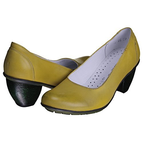 Kristofer pumps da pumps da Kristofer Kristofer Kristofer giallo donna pumps giallo pumps donna giallo da da donna qrr5IAw