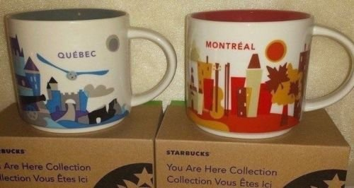 City Collection Are Starbucks Here You Montrealamp; Mugs Quebec D9HEYW2I