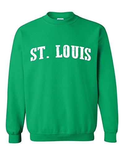 Mom's Favorite Missouri Sweatshirt ST. Louis MO Home University Of Missouri Tigers Unisex Crewneck - St Malls Missouri Louis