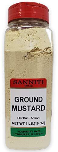Sanniti Premium Ground Dry Mustard Seed Powder,