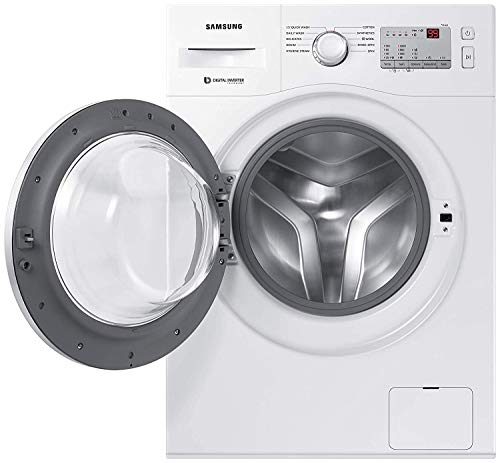 Samsung 6.0 Kg Inverter 5 Star Fully-Automatic Front Loading Washing Machine (WW60R20GLMA/TL, White, Hygiene Steam) Discounts Junction