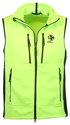Performance Fleece Vest (Ralph Lauren Men's RLX Performance Fleece Vest (XX-Large, Green))