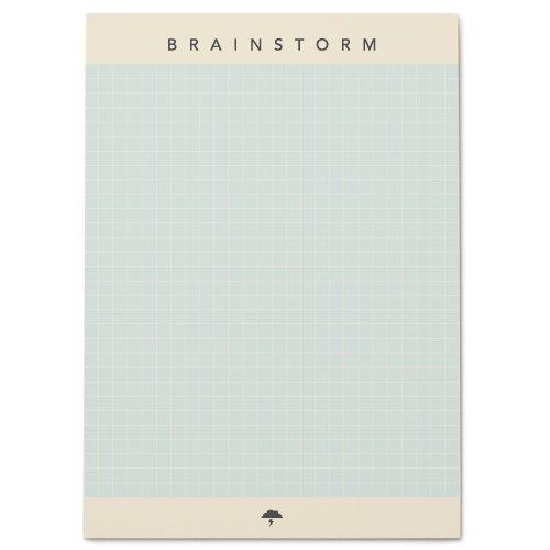 Snow & Graham Brainstorm Notepad by Snow & Graham