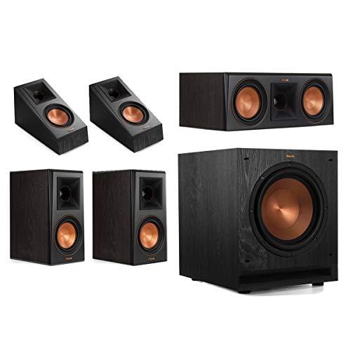 Klipsch RP-500M 5.1 Home Theater System - Ebony