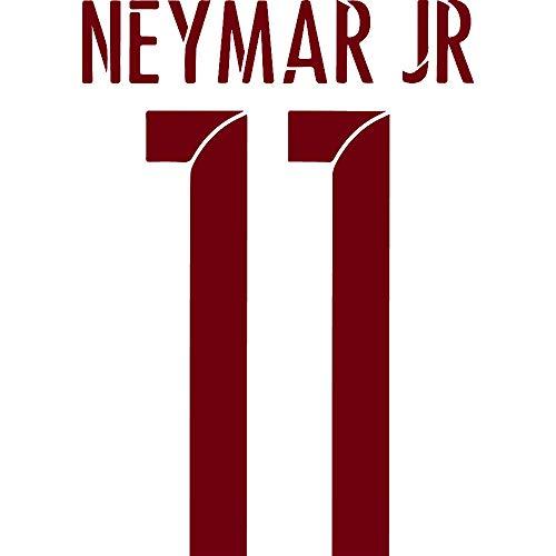 the latest f65e6 10686 NBFU DECALS LA LIGA FC Barcelona Neymar JR 11 (Burgundy) (Set of 2) Premium  Waterproof Vinyl Decal Stickers for Laptop Phone Accessory Helmet CAR  Window ...