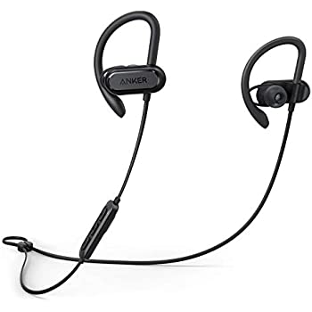 Anker Wireless Headphones, Soundcore Spirit X Bluetooth Sports Headsets w/Mic, Bluetooth 5.0, 12-Hour Battery, Noise Isolation, IPX7 Wireless Earbuds, ...