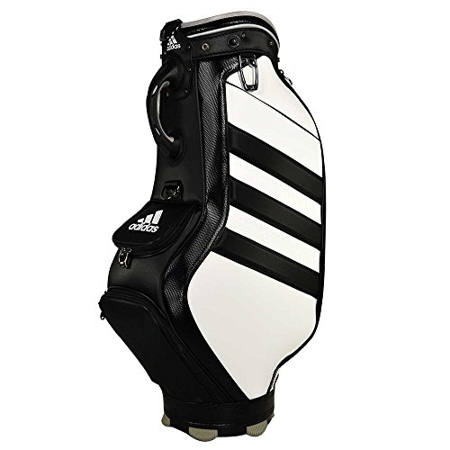 adidas Tour Staff Bag White/Black/White