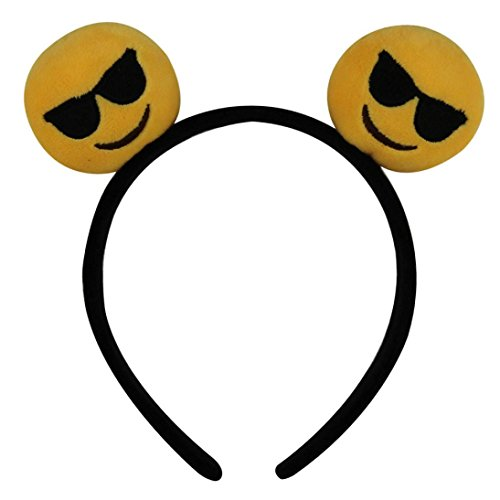 Emoji Hair Band, Creazy® Girl's Cute Hair Bands with Different Expressions (90)