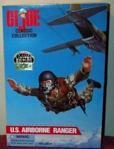 Hasbro 80955 GI Joe U.S African American Version Airborne Ranger 12 Action Figure