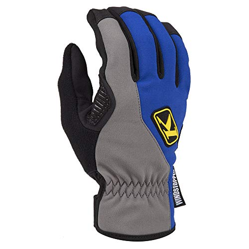 Klim Inversion Men's Snow Snowmobile Gloves - Blue / 2X-Large