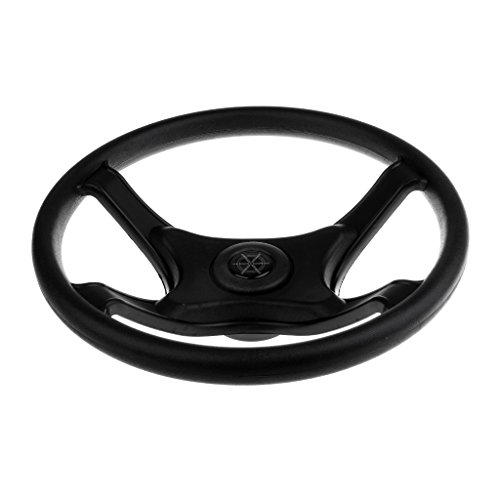 MagiDeal Heavy Duty Universal 330mm Marine Sports Boat Steering Wheel 4 Spoke 3/4'' by MagiDeal