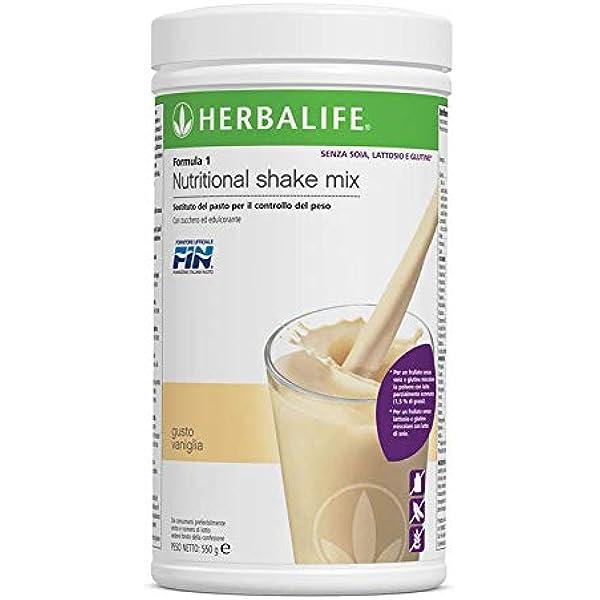 Herbalife- Formula 1 Vainilla - sin Gluten, Lactosa, Soja ...