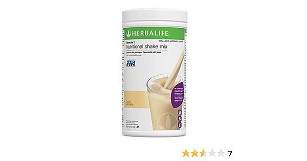 Herbalife- Formula 1 Vainilla - sin Gluten, Lactosa, Soja - 550 g