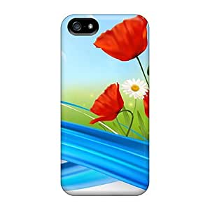 Cynthaskey HmvAJXS5208BnOYc Case Cover Skin For Iphone 5/5s (garden So Bright)