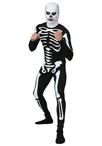 Plus Size Karate Kid Skeleton Suit (Karate Kid Skeleton Suit)