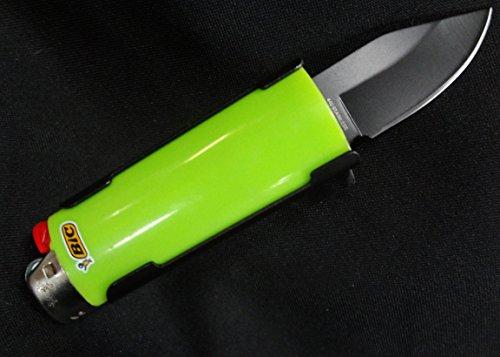 Lighter holder with spring assist knife bro lighter case for Paracord lighter holder