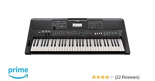Amazon.com: Yamaha PSR-E463 61-Key Portable Keyboard: Musical Instruments