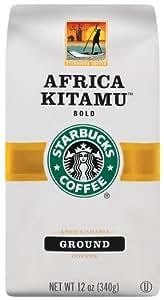 Starbucks Africa Kitamu Coffee, Ground, 12-Ounce Bags (Pack of 3)