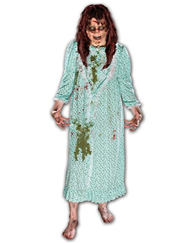 Morbid Enterprises The Exorcist Regan Costume, Green, One Size ()