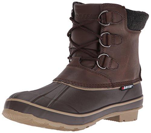 US Women's Brown Brown Elk Baffin M 6 Boot Snow Sw08Rdq