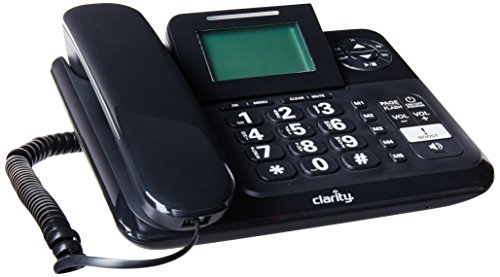 Clarity 53730 E814 Amplified 40DB Corded Phone ()