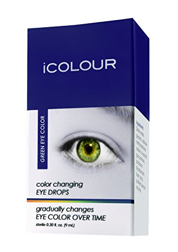 (iCOLOUR Color Changing Eye Drops - Change Your Eye Color Naturally - 1 Month Supply - 9 mL)
