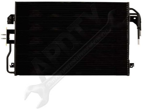 APDTY 3782 AC Air Conditioning Condenser With AT Automatic Transmission Fluid Oil Cooler Fits 2009-2012 Ford Escape 2009-2011 Mercury Mariner 2009-2010 Mazda Tribute (Replaces 9L8Z-19712-A, YJ519) Automatic Air Conditioning