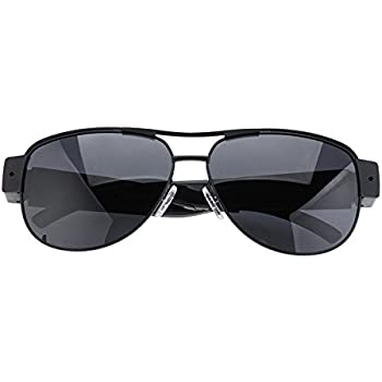 Amazon.com : Spy Eyeglsses Mini Camera Sunglasses 1080P HD Hidden ...