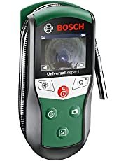 Bosch Digital Inspection Camera UniversalInspect (Protective Case, 3 x Accessories Included, 2 x Hand Straps, 4 x AA Batteries Included, in Box)