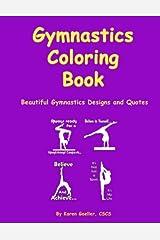 Gymnastics Coloring Book Paperback