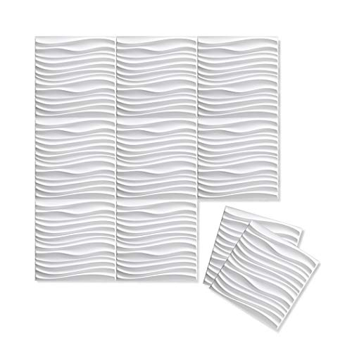 Inhabit Current Wall Flats - 3D Textured Wall Panels ()