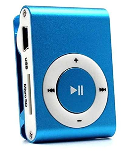 Shaarq Mini Rechargeable Shuffle MP3 Player with SD Card Slot Compatible  with Xiaomi, Lenovo, Apple, Samsung, Sony, Oppo, Gionee, Vivo Smartphones