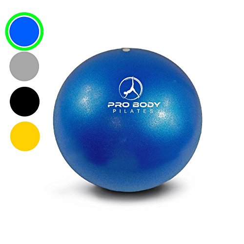 Mini Exercise Ball - 9 Inch Bender Ball for Stability, Barre, Pilates,...