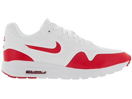Nike Womens Air Max 1 Ultra Essensielle Løpesko Toppmøtet Hvit / Universitet Rød / Hvit