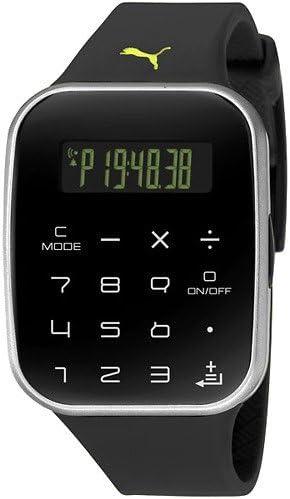 PUMA TIME Reloj Digital para Hombre de Cuarzo con Correa en Resina MTD-1057D-1AVES