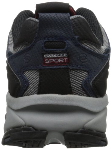 Skechers Sport Mens Vigor 2.0 Trait Memory Foam Sneaker Navy/Grey