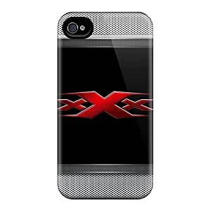 High-end Case Cover Protector For Iphone 4/4s(triple X Lockscreen)